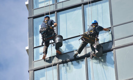 Post-Construction Window Cleaning